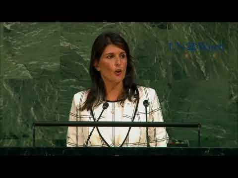 Nikki Haley rips pro-Hamas U.N. Gaza resolution