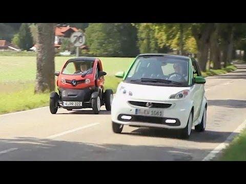 E-Autos im Test: Twizy gegen Smart | CHIP