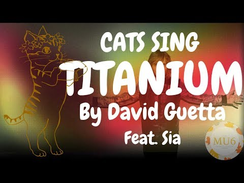 Cats Sing Titanium by David Guetta ft. Sia | Cats Singing Song