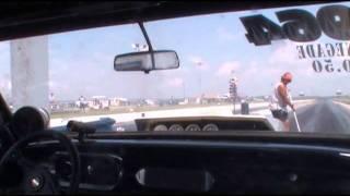 RccVideo's Onboard the stickshift Hyatt Racing 64 Chevy II Thompson Raceway Park Renegade UMTR
