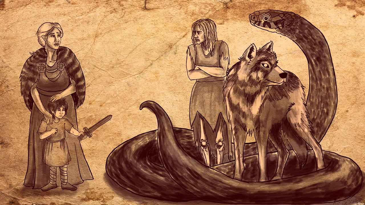 God Loki in Norse mythology 53