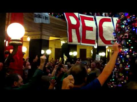 Wisconsin Solidarity Sing-Along - December 19, 2011: Solidarity Forever