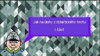 Ematurity.cz - Didaktický test z českého jazyka - otázky 1 - 15