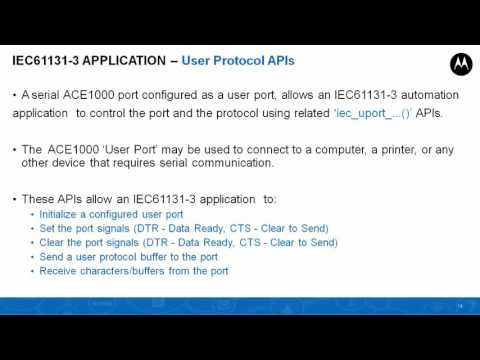 Webinar For Ace1000 Codesys Iec61131-3 Apis And Example