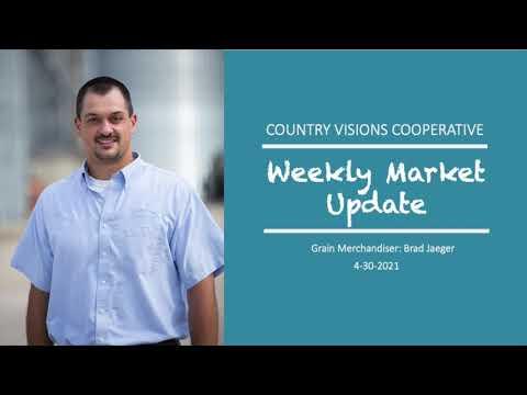 Grain Market Report 4-30-21