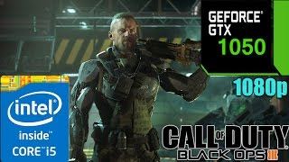Call of Duty Black Ops 3 GTX 1050 2GB | Multiplayer | Custom Settings | 1080p