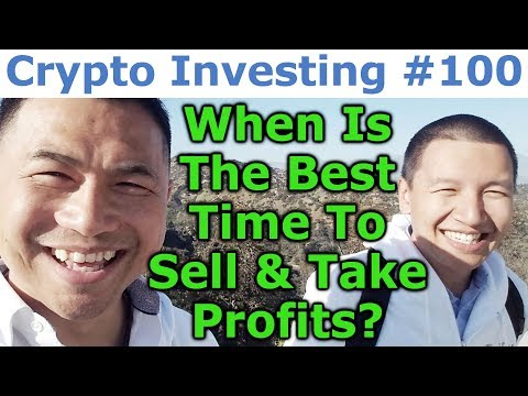 Crypto Investing #100 - When Is The Best Time To Sell & Take Profits? - By Tai Zen & Leon Fu