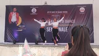 One chance to dance semifinale performance | IshitaNShristhi choreography | Duet | Dilbar Remix