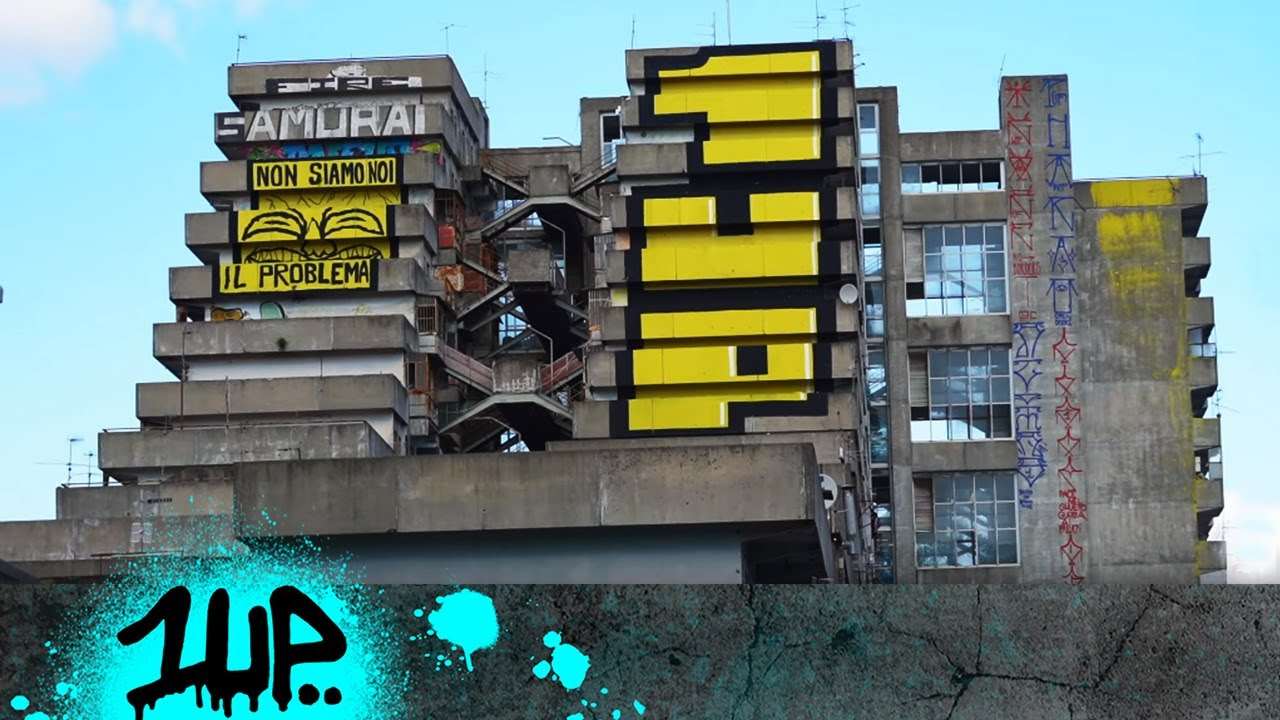 """""""1UP IN NAPOLI - THIS IS NOT ART ANYMORE"""" - PART TWO"""