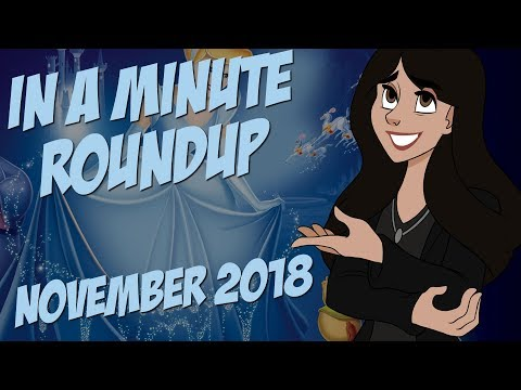 Disney Roundup - November 2018
