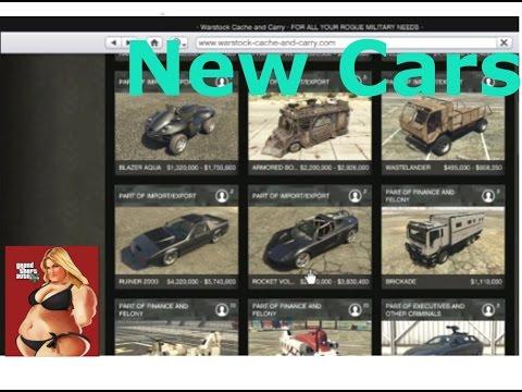 gta v online import export new vehicles youtube. Black Bedroom Furniture Sets. Home Design Ideas