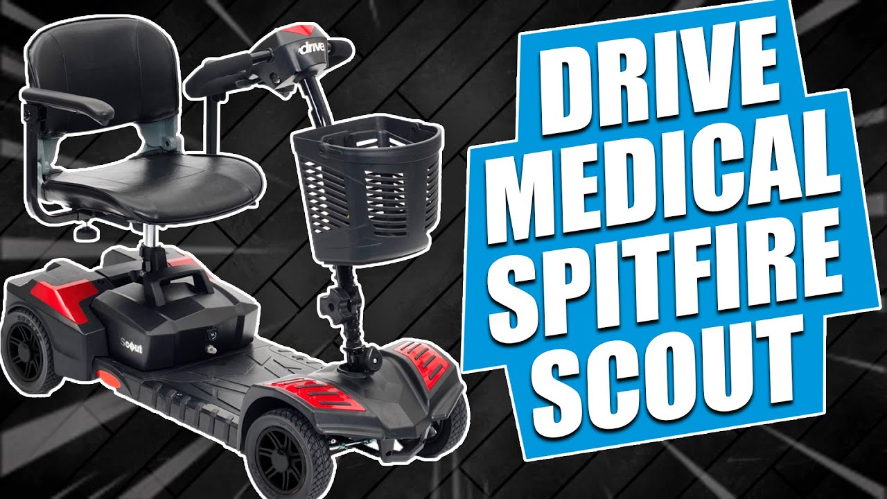 Drive Medical Spitfire Scout Mobility Scooter