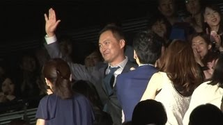 映画「許されざる者」のジャパンプレミアが9月2日、東京都内で行われ、...