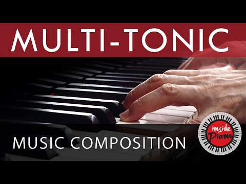 Multi-Tonic Music Composition. Major and Minor Piano Chord Progressions.