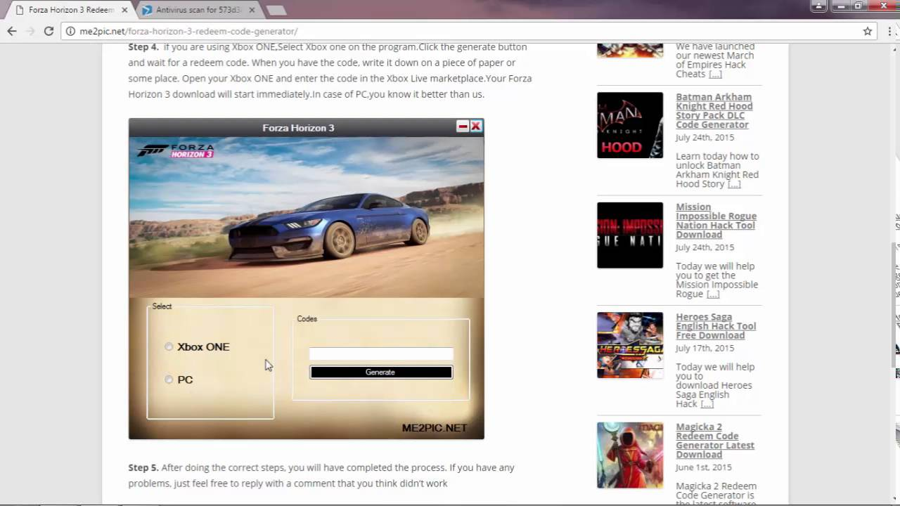 Forza Horizon 3 Redeem Code With Gameplay Part 2