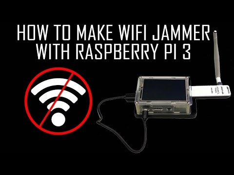 How to Make a WiFi Jammer with Raspberry Pi 3 - Dephace