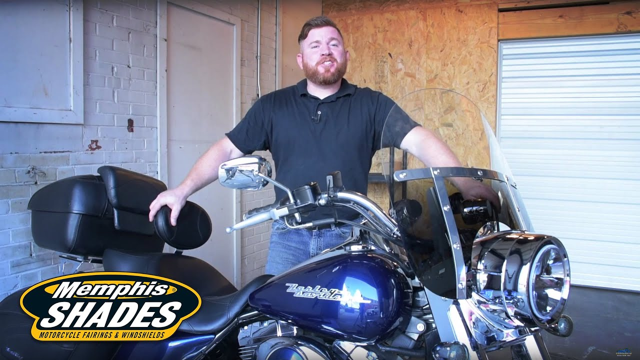 2012 harley davidson road king - memphis shades project part 2