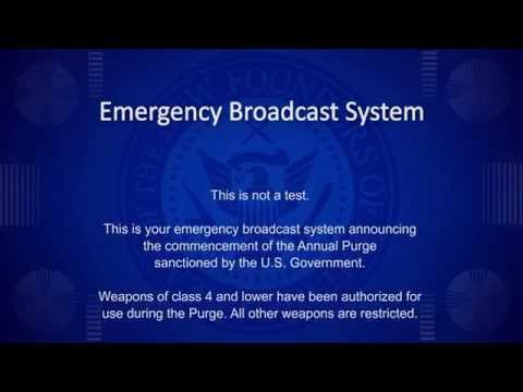 The Purge - Announcement HD