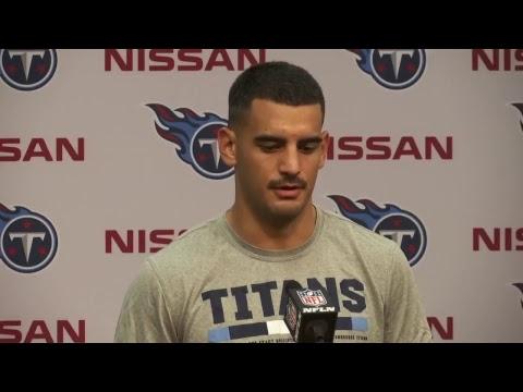 Titans QB Marcus Mariota Press Conference #CINvsTEN