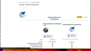 External Share Confluence Demo Video