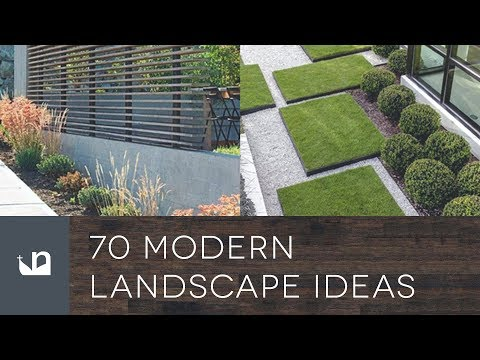 70 Modern Landscape Ideas