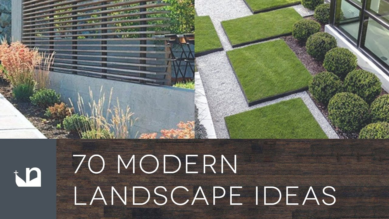 70 Modern Landscape Ideas - YouTube