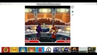 Небольшое видео-прохождение по флэш игре Хромированная война