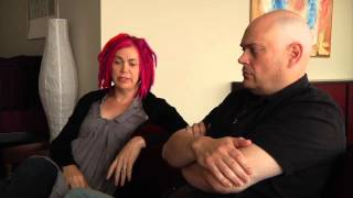Side By Side - Keanu Reeves Talks With Lana And Andy Wachowski