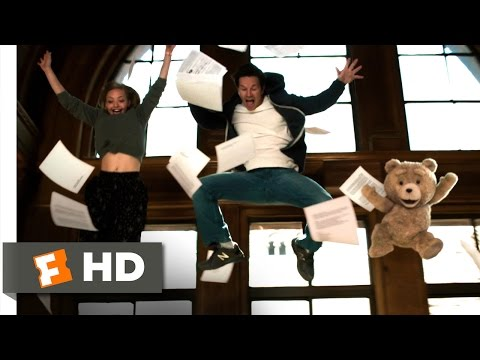 Ted 2 (6/10) Movie CLIP - Library Dance (2015) HD