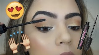 TESTING BENEFIT BAD GAL BANG MASCARA.. IS IT WORTH THE HYPE?! | Nicole Courchée