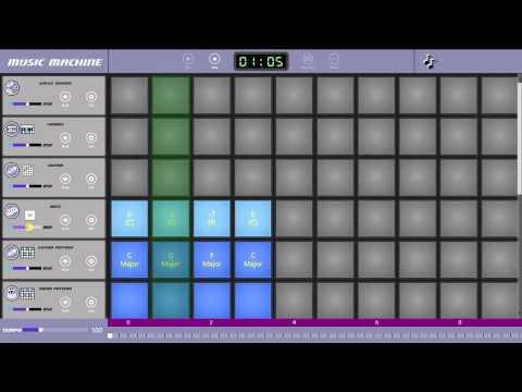 Music Machine tutorial