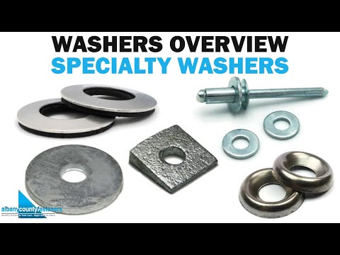 Special Types Of Fastener Washers | Fasteners 101