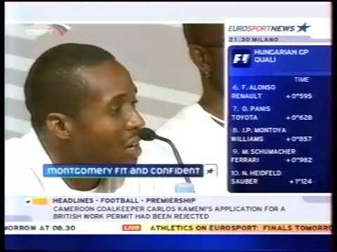 Eurosport News (Спорт, 23.08.2003) Начало программы