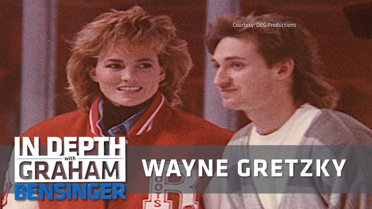Wayne Gretzky I Proposed To Wife Over Phone