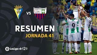 Resumen de Cádiz CF vs Extremadura UD (0-1)