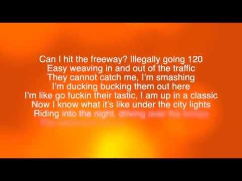 Macklemore- White Walls [Lyrics on screen]