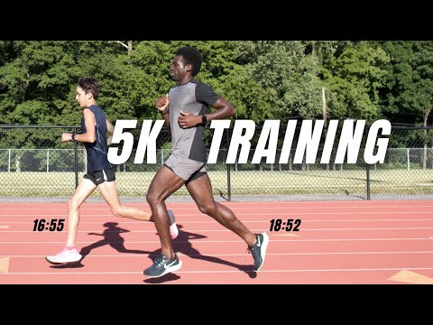 training for 5K PR | road to running a faster 5k | track workout