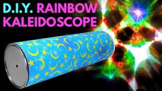 DIY Rainbow Kaleidoscope - Handmade Toys From Recycled Materials