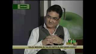 "Rajiv Mishra Talk show ""Special Guest"" with Alan Haselhurst."
