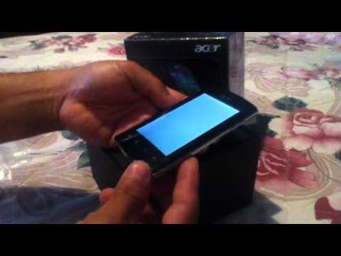 Problema con la pantalla del Acer Liquid Metal