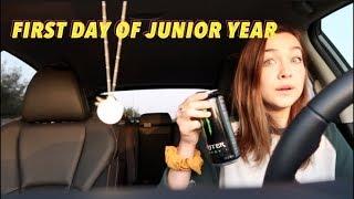 first day of school GRWM vlog (junior year)