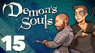 Demon's Souls - #15 - The Old Monk - PlayFrame