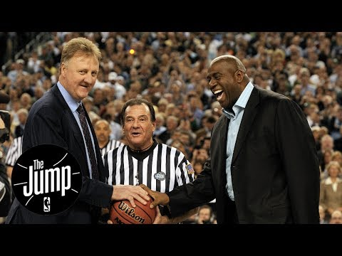 Larry Bird vs. Magic Johnson: Best Player Rivalry Ever? | The Jump | ESPN
