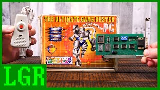 LGR Oddware - DOS PC Action Replay: The Ultimate Game Buster