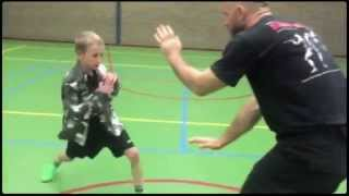 Kidz Krav by Institute Krav Maga Netherlands, an impression, 5 Oct. 2015