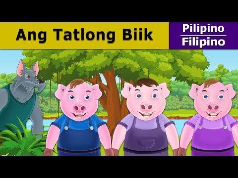 Ang Tatlong Biik | Kwentong Pambata | Mga Kwentong Pambata | 4K UHD | Filipino Fairy Tales