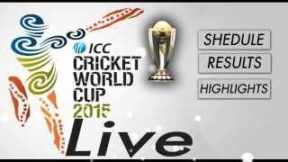 ICC Cricket World Cup 2015 | Cricket news, live scores