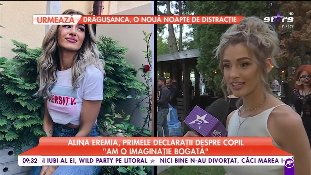 """Alina Eremia, primele declarații despre copil: """"Îmi doresc să am o relație deschisă cu copilul meu"""""""