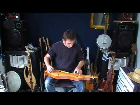 """Cristian HUET : """"The Foggy Dew"""" (acoustic dulcimer)"""