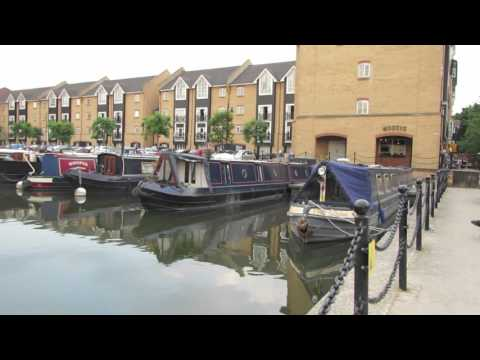 Barge Harbour by the  Grand Union Canal in Hemel Hempstead Hertfordshire